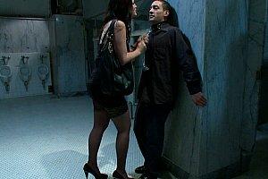baiser devant inconnus