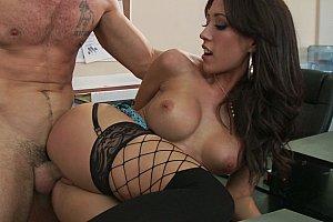 anal stockings bigtits