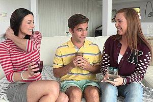 footjob and masturbation w dildo